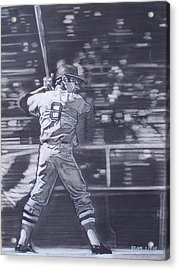 Yaz - Carl Yastrzemski Acrylic Print by Sean Connolly