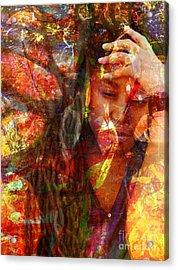 Yep  Acrylic Print by Fania Simon