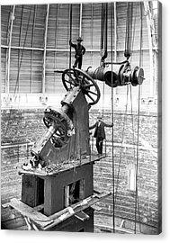 Yerkes 40-inch Refractor Telescope Acrylic Print by Yerkes Observatory, University Of Chicago, Courtesy Emilio Segre Visual Archives/american Institute Of Physics