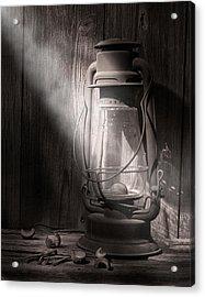 Yesterday's Light Acrylic Print by Tom Mc Nemar