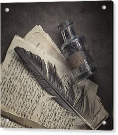 Yesteryear Acrylic Print by Amy Weiss