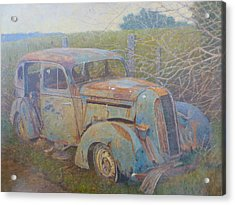 Yesteryear Catlins 1980s Acrylic Print by Terry Perham
