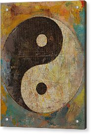 Yin Yang Acrylic Print by Michael Creese
