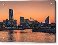 Yokohama 03 Acrylic Print by Tom Uhlenberg