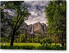Yosemite Falls Acrylic Print by Cat Connor