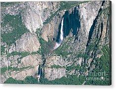 Yosemite Falls Acrylic Print by Mark Newman