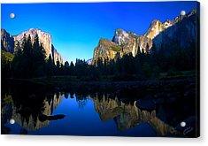 Yosemite Reflections Acrylic Print by ABeautifulSky Photography