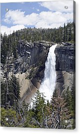 Yosemite's Nevada Fall Acrylic Print by Bruce Gourley