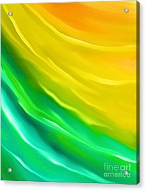 You Are My Sunshine Acrylic Print by Hilda Lechuga