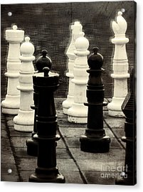 Your Move Acrylic Print by Colleen Kammerer