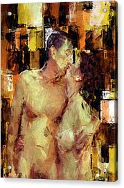 You're The One Acrylic Print by Kurt Van Wagner