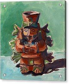 Yucatan Prince Acrylic Print by Pattie Wall