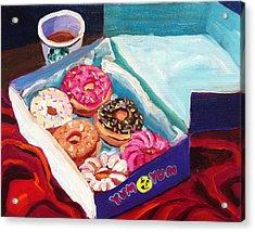Yum Yum Donuts Acrylic Print by Sean Boyce