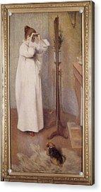 Zandomeneghi, Federico 1841-1917. Il Acrylic Print by Everett