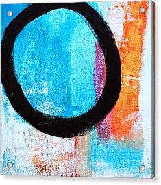 Zen Abstract #32 Acrylic Print by Linda Woods