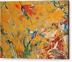 Zen  Acrylic Print by Nancy Kane Chapman
