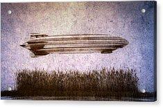 Zeppelin  Acrylic Print by Bob Orsillo