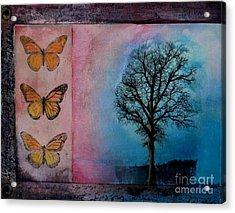 Zig's Tree Acrylic Print by Cynthia Vaught