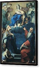 Zoboli Giacomo, Madonna And Child Acrylic Print by Everett