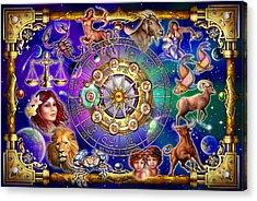 Zodiac Acrylic Print by Ciro Marchetti