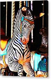 Zoo Animals 3 Acrylic Print by Marty Koch