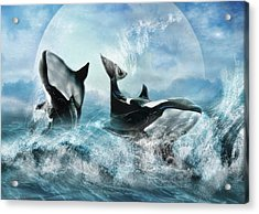 Forever Acrylic Print by Trudi Simmonds