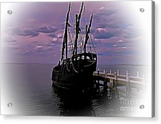 Notorious The Pirate Ship 5 Acrylic Print by Blair Stuart