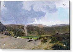 Scandinavian Landscape  Acrylic Print by Janus la Cour
