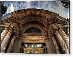 008 Architectural Beauty Of Downtown Buffalo Series Acrylic Print by Michael Frank Jr