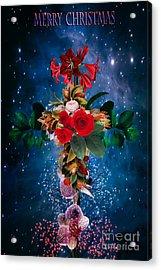 Merry Christmas Acrylic Print by Andrzej Szczerski