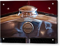1929 Franklin Model 130 2-door Coupe Acrylic Print by David Patterson