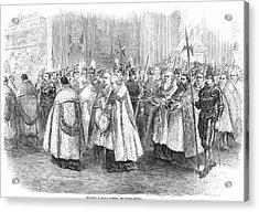 1st Vatican Council, 1869 Acrylic Print by Granger