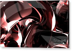 3d Abstract Background Acrylic Print by Rattanapon Muanpimthong