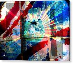 9-11 In Memory 2 Acrylic Print by Lenore Senior