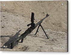 A Pk 7.62 Mm General-purpose Machine Acrylic Print by Terry Moore