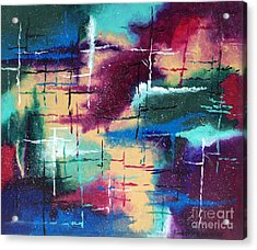 A Star Is Born Acrylic Print by Kimberlee Weisker