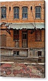 Abandoned Warehouse Acrylic Print by Jill Battaglia