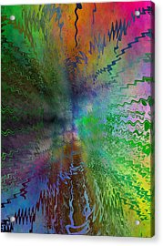 After The Rain  Acrylic Print by Tim Allen