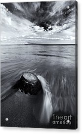 Against The Tides Acrylic Print by Mike  Dawson
