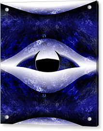 All Seeing Eye Acrylic Print by Christopher Gaston