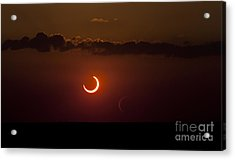 Annular Solar Eclipse Acrylic Print by Phillip Jones