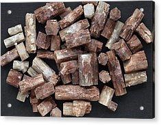 Aragonite Crystals Acrylic Print by Dirk Wiersma