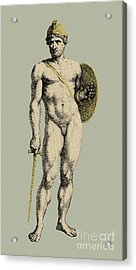 Ares, Greek God Of War Acrylic Print by Photo Researchers