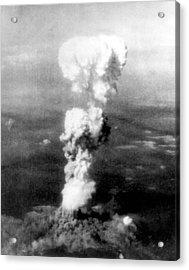 Atomic Bomb. A Mushroom Cloud Rises Acrylic Print by Everett