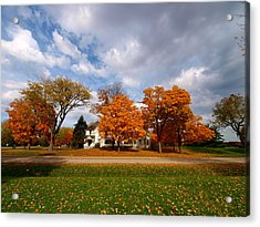Autumn Is Colorful Acrylic Print by Paul Ge