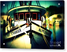 Back In The Harbor Acrylic Print by Susanne Van Hulst