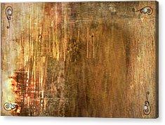 Bamboo Acrylic Print by Christopher Gaston