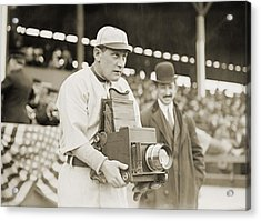 Baseball: Camera, C1911 Acrylic Print by Granger