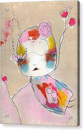 Be Polite Acrylic Print by Christina Romeo