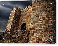 Belver Castle Acrylic Print by Carlos Caetano